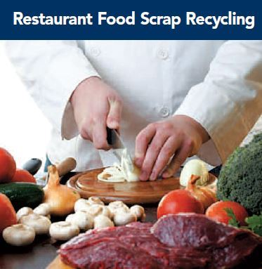 Restaurant Food Scraping Recycling