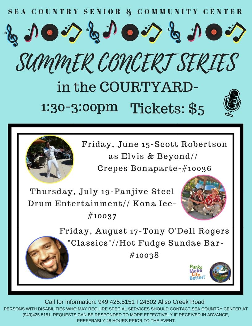 Summer Concerts In the Courtyard Series