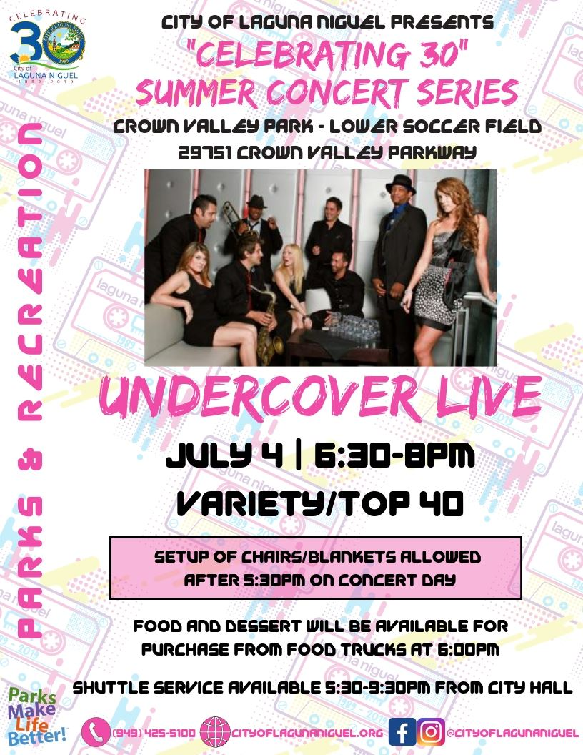 Undercover Live