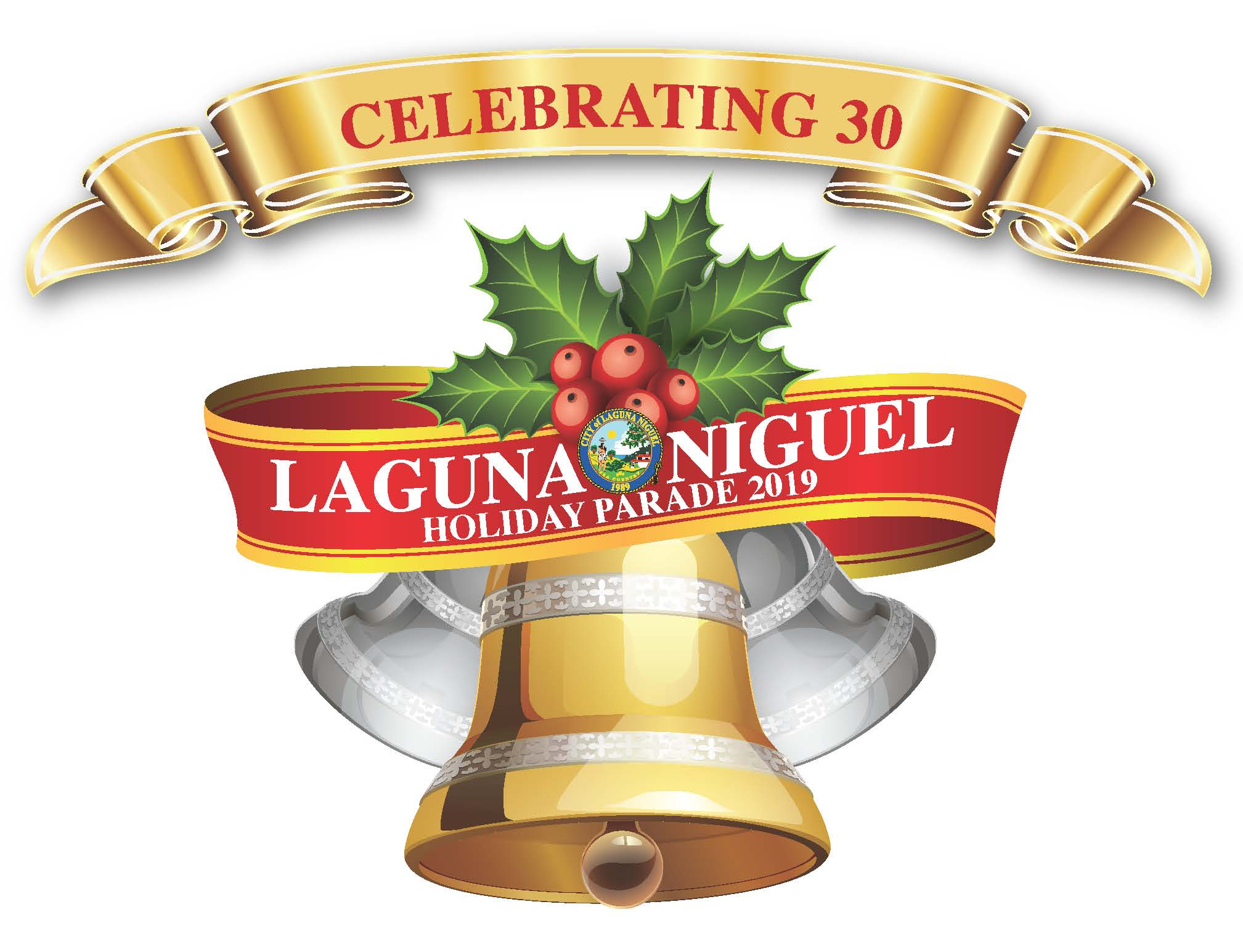 Laguna Niguel Holiday Parade_Logo 2019