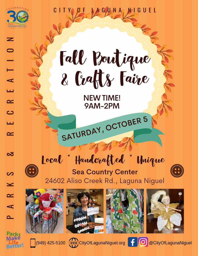 Crafts Faire Event Flyer