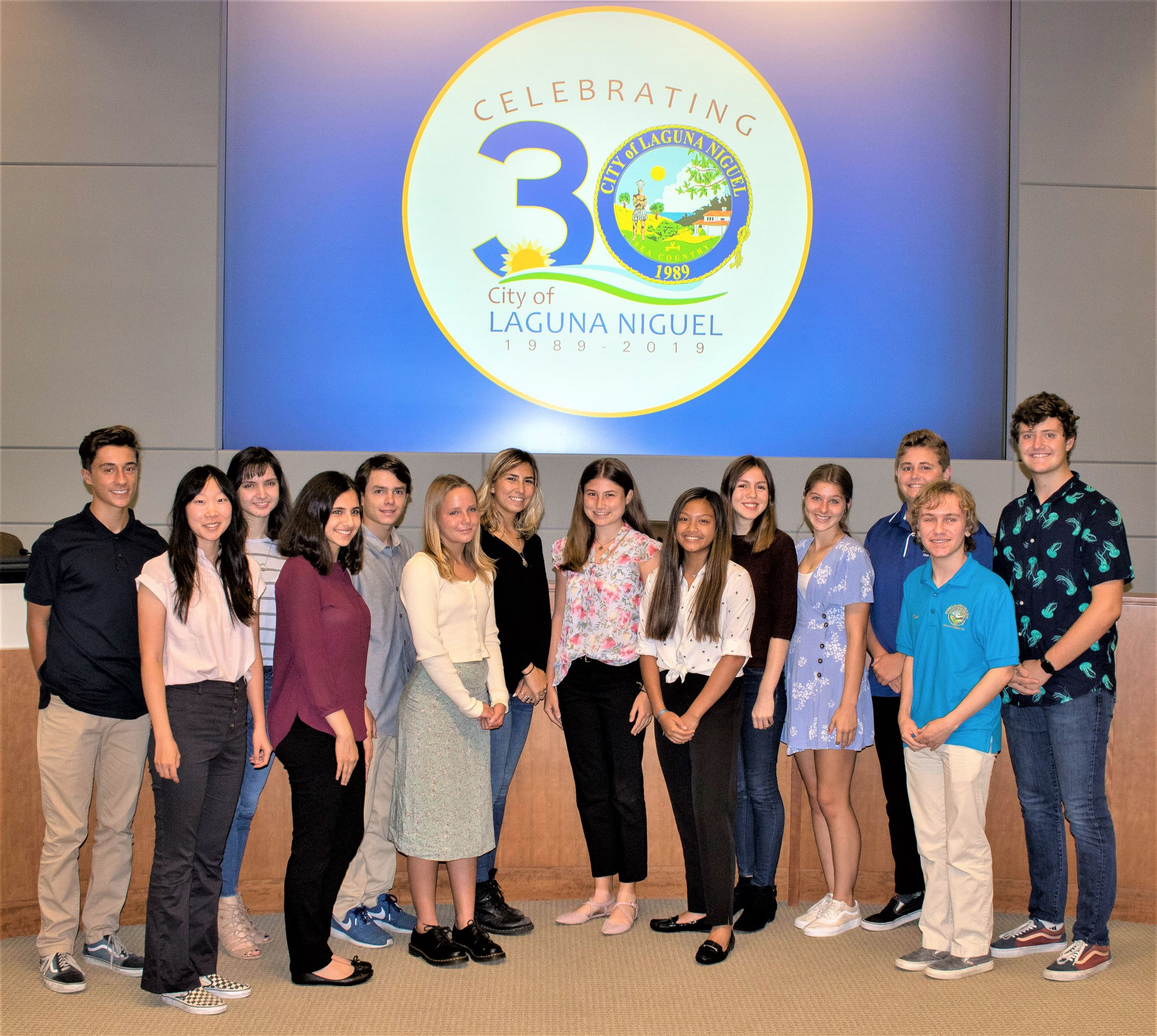 Youth Committee 2019 Group Photo