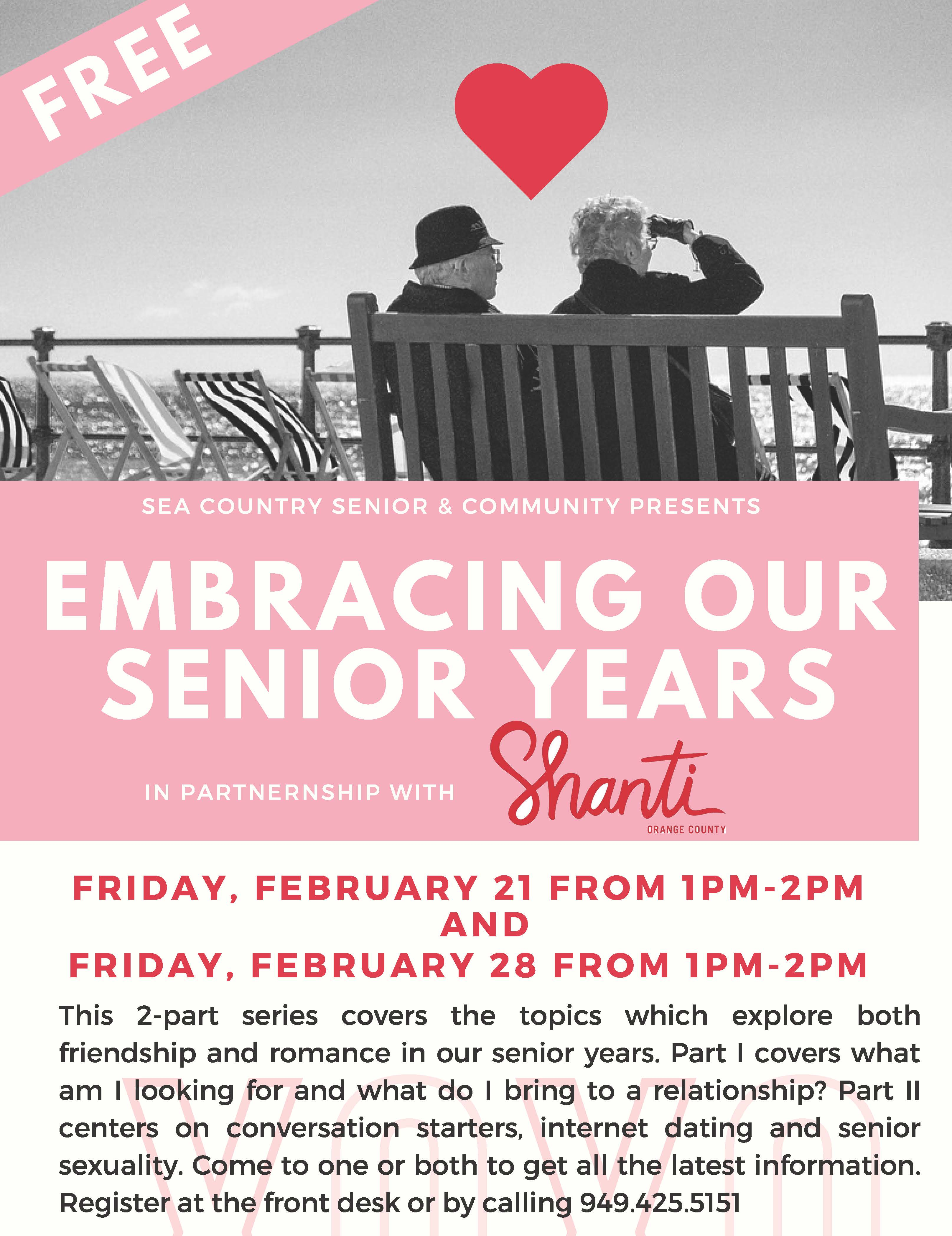 Lecture - Embracing Your Senior Years