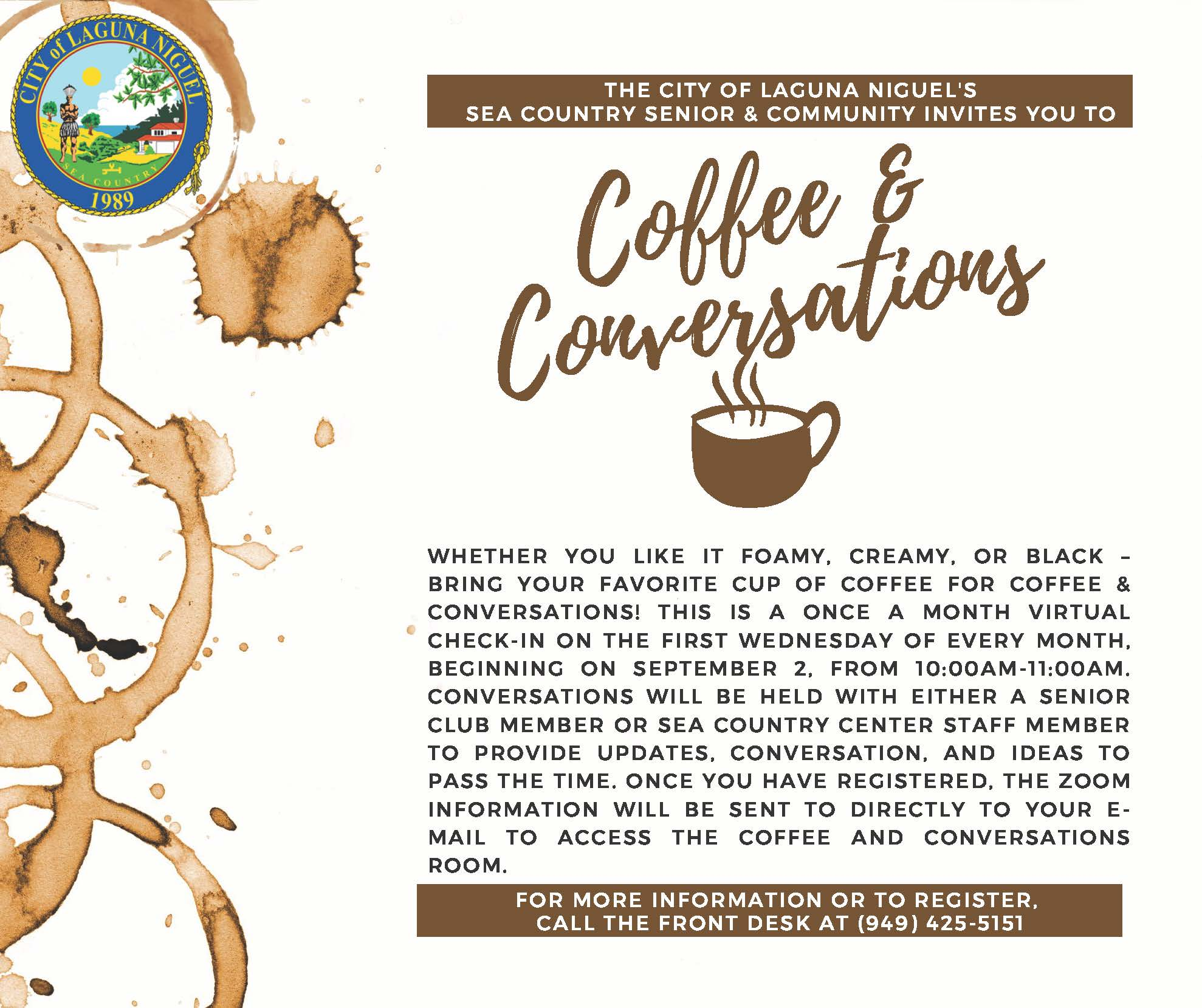 SCSCC Coffee and Conversations