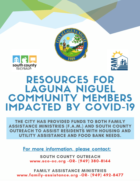 Two Resources for Laguna Niguel Community Members