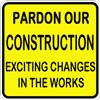 Pardon Our Construction