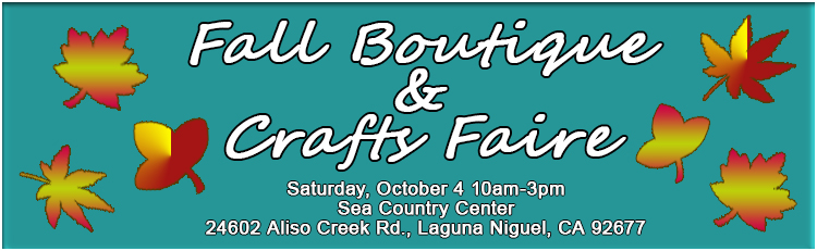 Fall Crafts Faire Banner